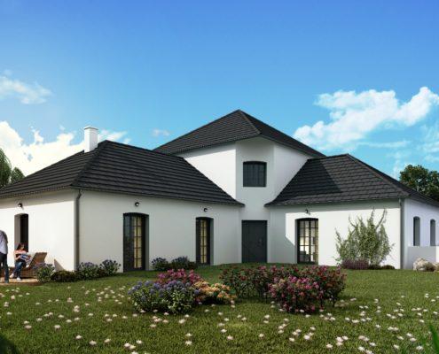 maison de 211,17 m2