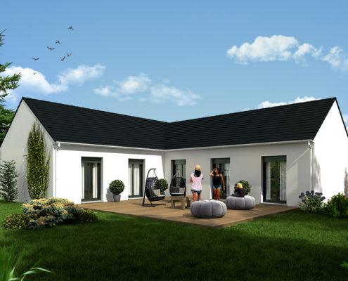 maison de 112,37 m2