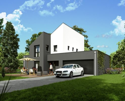 Maison de 117,51 m2