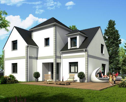 maison de 140,58 m2
