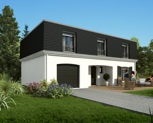 maison de 143,98 m2